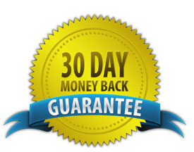 30-Day, No Questions, Money Back Guaranty