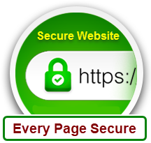 Every page of this website is secure